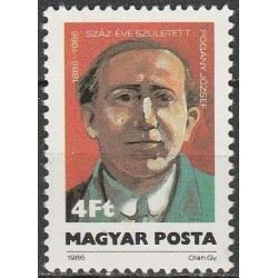 Hungary 1986. Writer