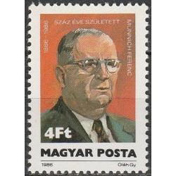 Vengrija 1986. Politikas