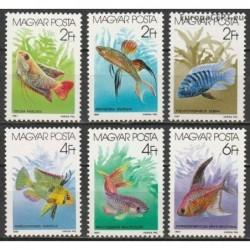 Vengrija 1987. Žuvys