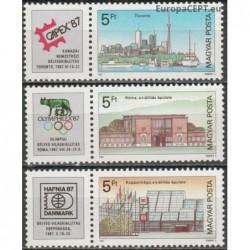 Vengrija 1987. Filatelijos...