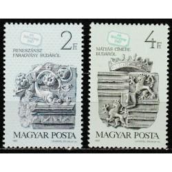 Vengrija 1987. Pašto ženklo...