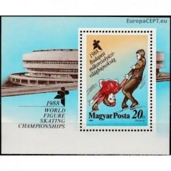 Hungary 1988. Figure skating
