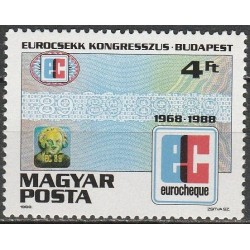 Hungary 1988. Eurocheque