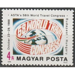 Hungary 1988. Tourism