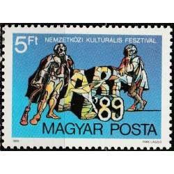 Hungary 1989. Art festival...
