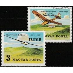 Hungary 1989. Gliding
