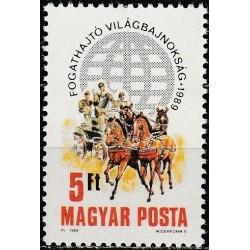 Hungary 1989. Horse riding