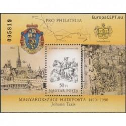 Vengrija 1990. Pašto istorija