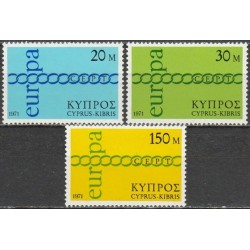 Cyprus 1971. CEPT: Stylised...