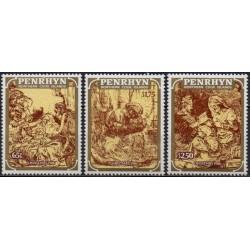 Penrhyn 1986. Engravings by...