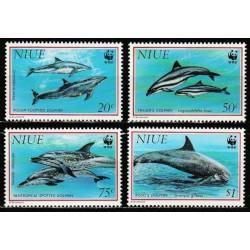 Niue 1993. Dolphins