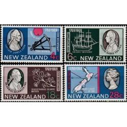 New Zealand 1969. 200th...