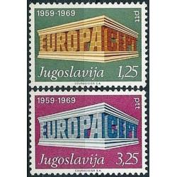Yugoslavia 1969. EUROPA &...