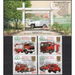 Tuvalu 2001. Fire Engines