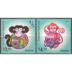 Samoa 2015. Year of the Monkey