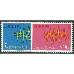 Yugoslavia 1972. Europa CEPT