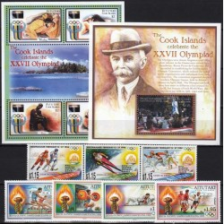 Aitutaki. Olympic Games on...