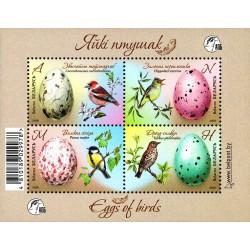 Belarus 2020. Eggs of Birds