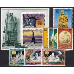 Aitutaki. History on stamps