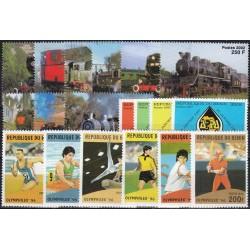 Benin 1996-2002. Set of...