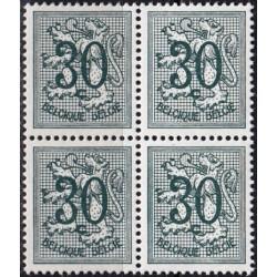 Belgija 1957. Herbas