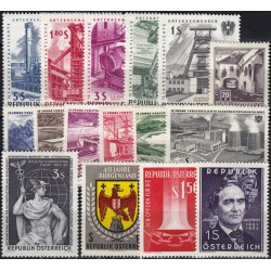 Austria 1960's. Set of new...