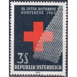 Austrija 1965. Raudonasis...