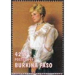Burkina Faso 1998. Diana,...
