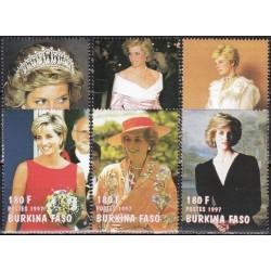 Burkina Faso 1998. Diana...