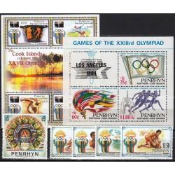 Penrhyn. Olympic Games on...
