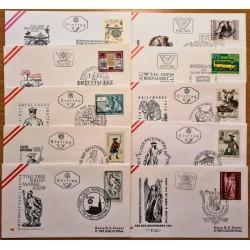 Austria 1970's. Stamp Day...