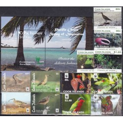 Cook Islands. Fauna on stamps