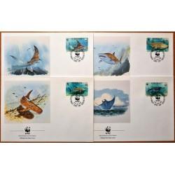 Kiribati 1991. WWF: Marine...