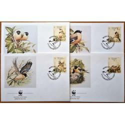 Azores 1990. WWF: Birds...