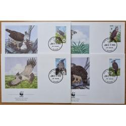 Guyana 1990. WWF: Harpy...