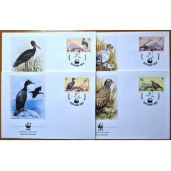 Gibraltar 1991. WWF: Birds...