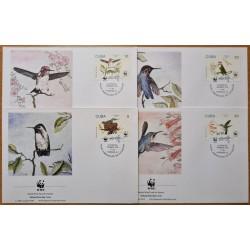 Carribean 1992. WWF: Birds...