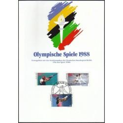 West Berlin 1988. Olympic...