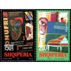 Albanija 2003. Plakatų menas
