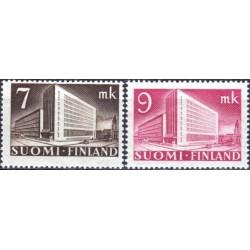 Finland 1942. Post building