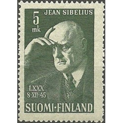 Finland 1945. Jean Sibelius...