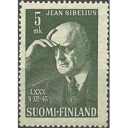 Suomija 1945. J. Sibelius...