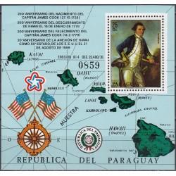 Paraguay 1978. James Cook...