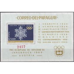 Paraguay 1963. Winter...