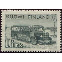 Suomija 1946. Autobusas