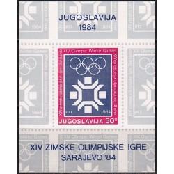 Jugoslavija 1983. Sarajevo...