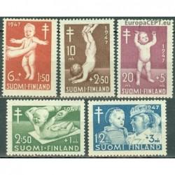 Finland 1947. Anti-TB campaign