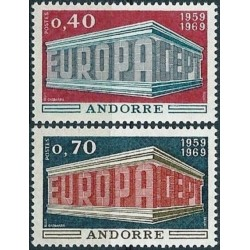 10x Andora (pranc) 1969....