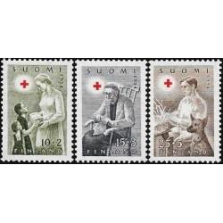 Finland 1954. Red Cross