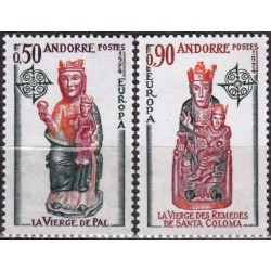 10x Andorra (french) 1974....